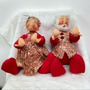 AnnaLee Mobilitee Christmas Santa & Mrs Clause